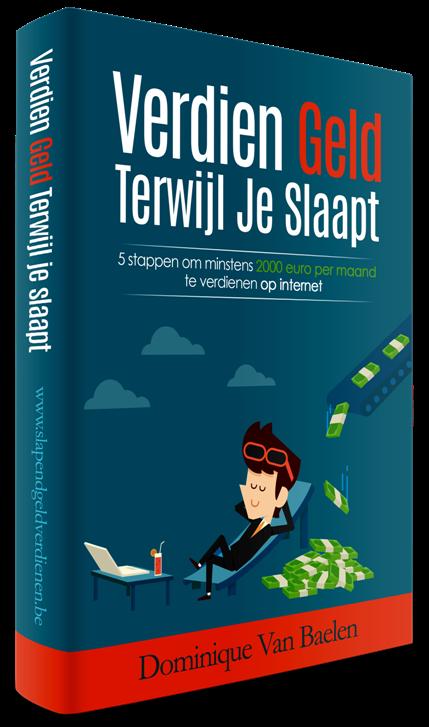 Geld verdienen op internet eboek cover