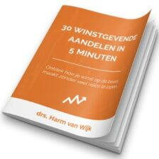 30 winstgevende aandelen Harm van Wijk